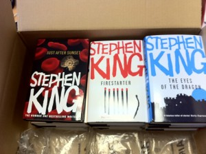 discounted stephen king books