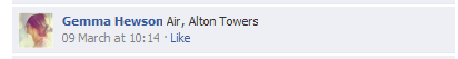 alton towers competition