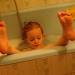baby oil bath oil