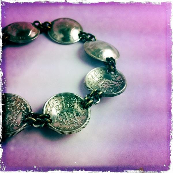 sixpence bracelet