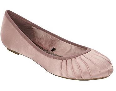 Pink pleated toe satin pumps - Debenhams shoe sale