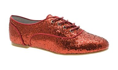 Red glitter shoes - Debenhams shoe sale