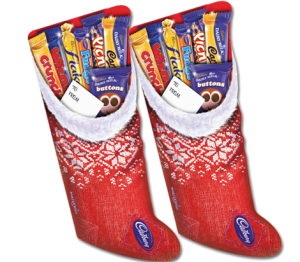 cadbury christmas selection stockings