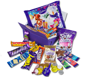 cadbury christmas treasure box
