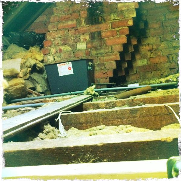 poor loft insulation