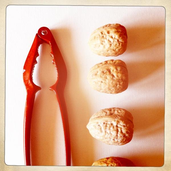 walnuts & radicchio