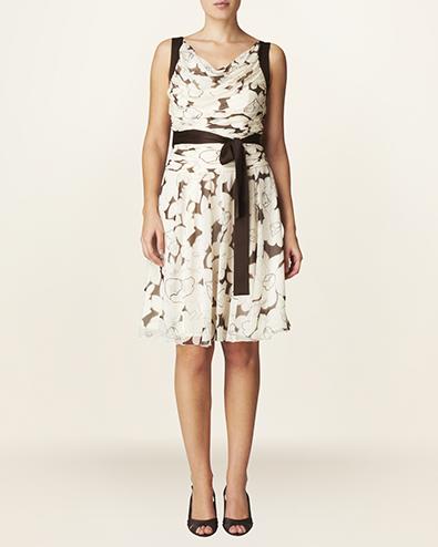 delphine print dress