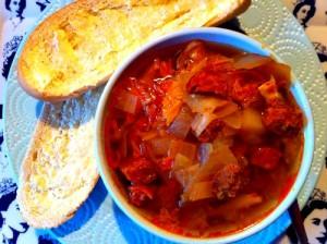 Caldo Verde stew