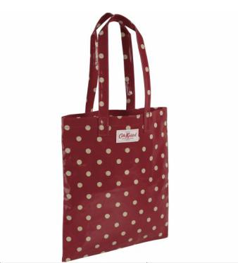Cath Kidston - Spot Oilcloth Bookbag