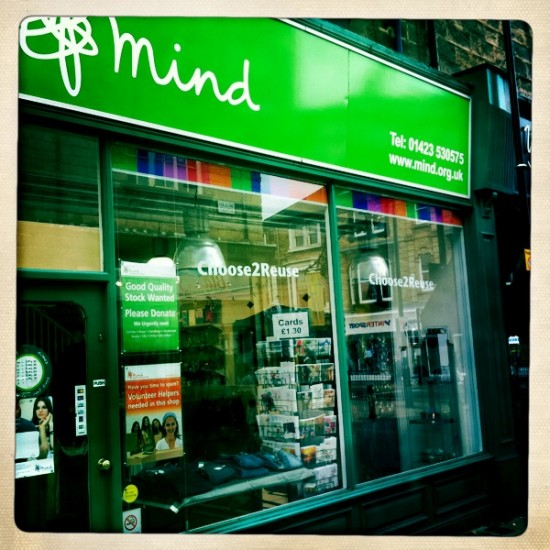 mind charity shop