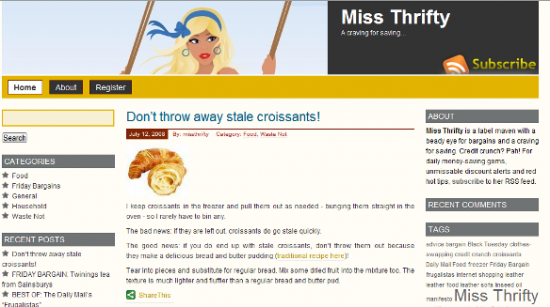 Miss Thrifty - 2008