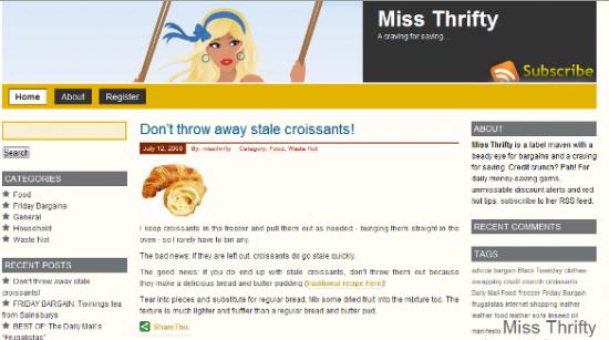 Miss Thrifty - 2008