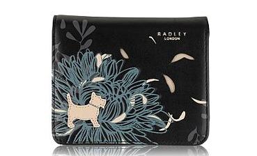 Radley - half price flower and logo wallet at Debenhams