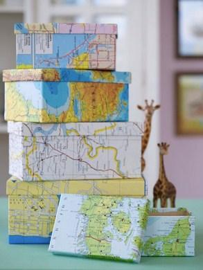 Map Storage Boxes