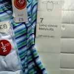sainsburys baby clothes
