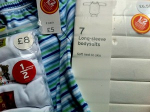 sainsburys baby clothes