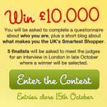 UK's Smartest Shopper Contest - Savoo