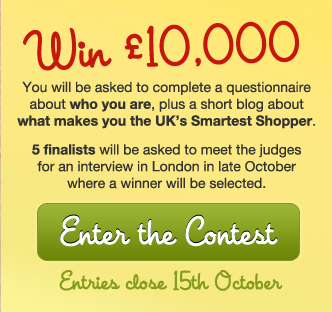UK's Smartest Shopper Contest - Savoo