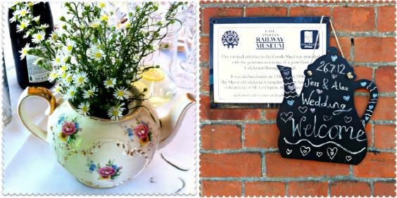 wedding teapots