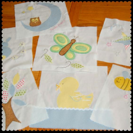 baby shower quilt