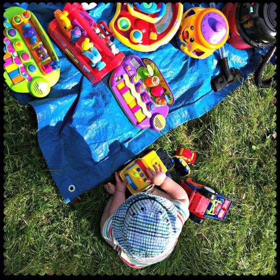 car boot sale toys