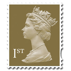 stamp - 1st class