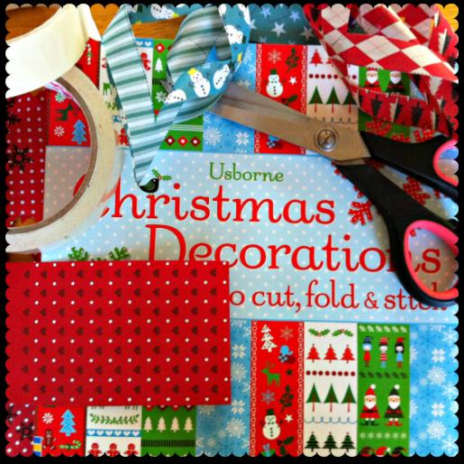 usborne christmas decorations