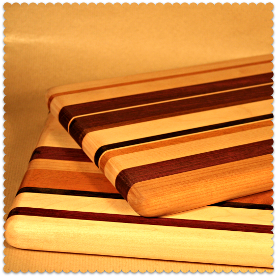 handmade chopping boards