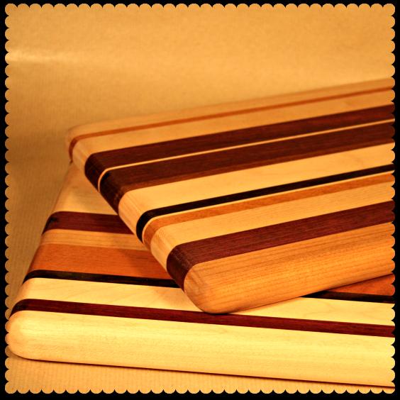 handmade chopping boards