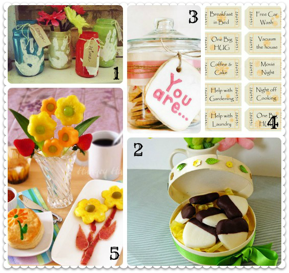 Five Last Minute DIY Gift Ideas For Mothers Day