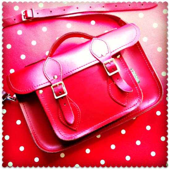 zatchel red satchel