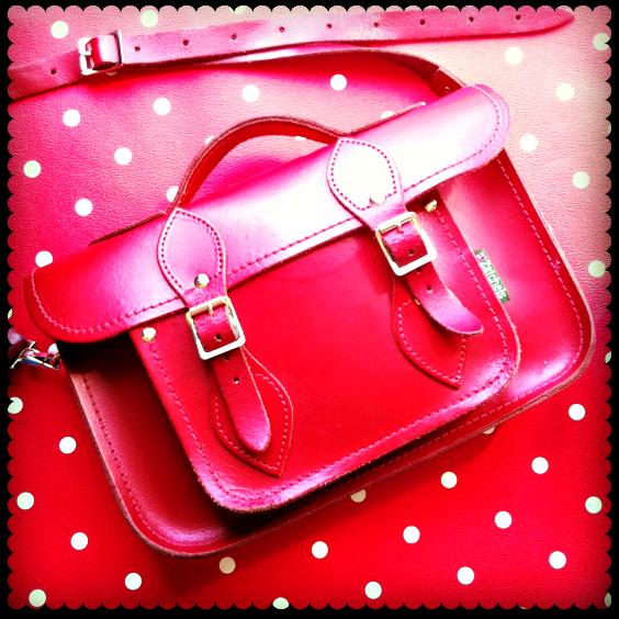 zatchel red satchel
