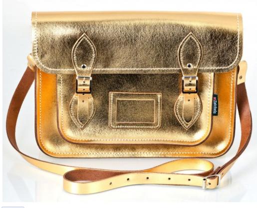 zatchels gold satchel