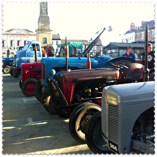 march of the tractors