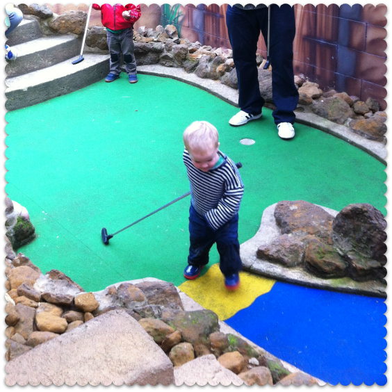 crazy golf in hunstanton