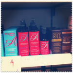 argan oil for hair - lots of products at Boots