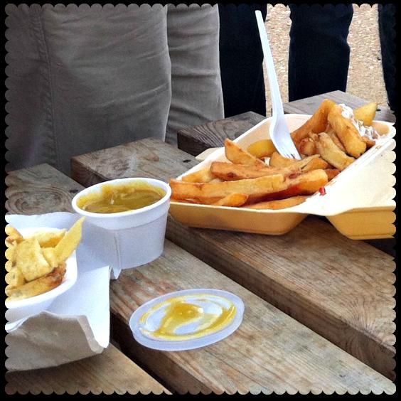 chips at hunstanton