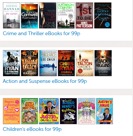 Sainsburys ebooks