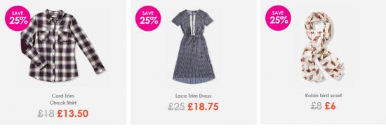 sainsburys tu robin scarf lace trim dress