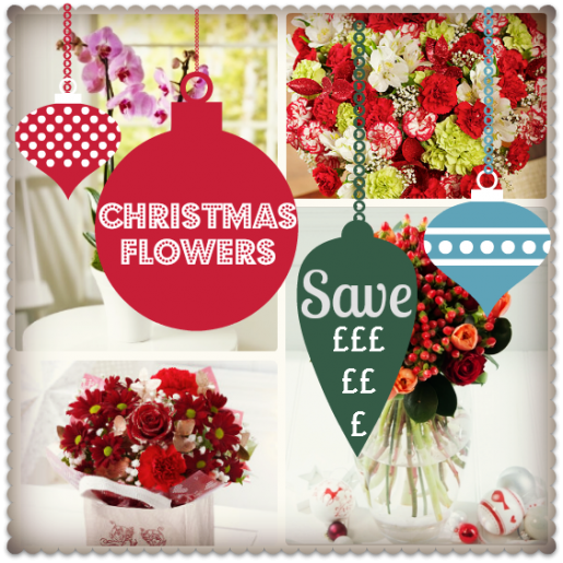 christmas flowers delivered save money
