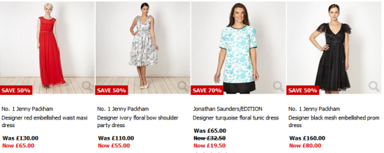debenhams dress sale