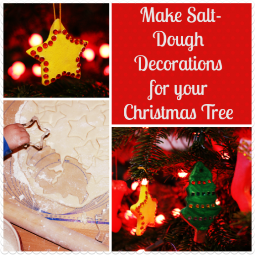 Make salt dough decorations for your christmas tree