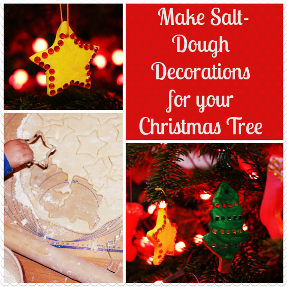 HOW TO: Make Salt-dough Decorations For Your Christmas