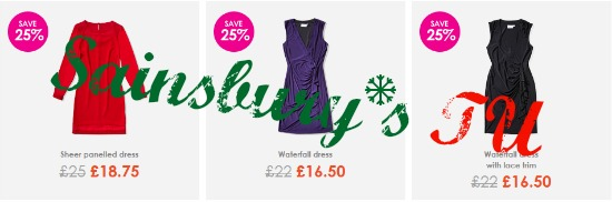 sainsburys tu discount dresses