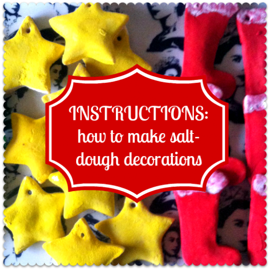 salt dough instructions