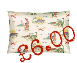 cath kidston dinosaur pillowcase