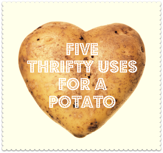 save money with potatoes