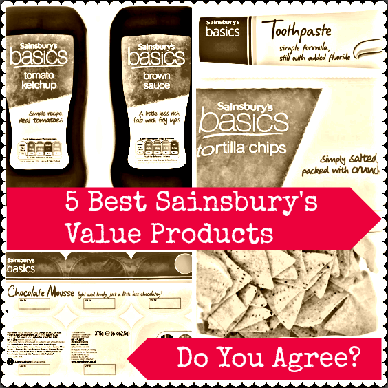 best sainsburys value products