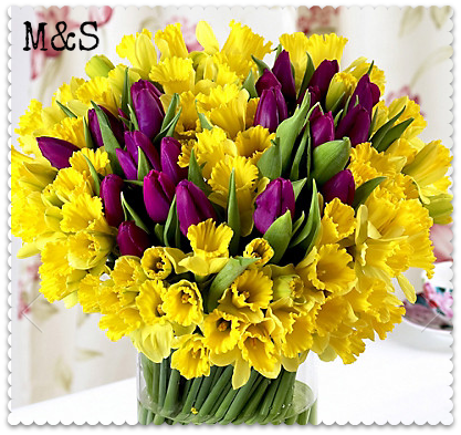 m&s mothers day flowers