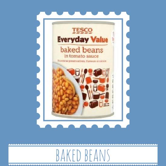 Tesco beans